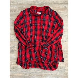 BEACHLUNCHLOUNGE Red Flannel